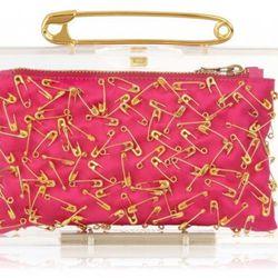 "<b>Charlotte Olympia x Tom Binns</b> Punk Pandora in pink, <a href=""http://www.charlotteolympia.com/tombinns-1/punkpandora-3952.html"">$1,390</a>"