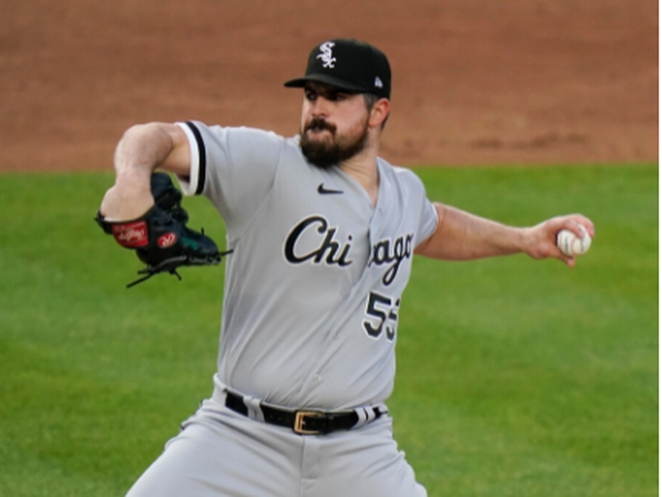 Sox left-hander Carlos Rodon has struck out 5.17 batters for every walk he has allowed this season.