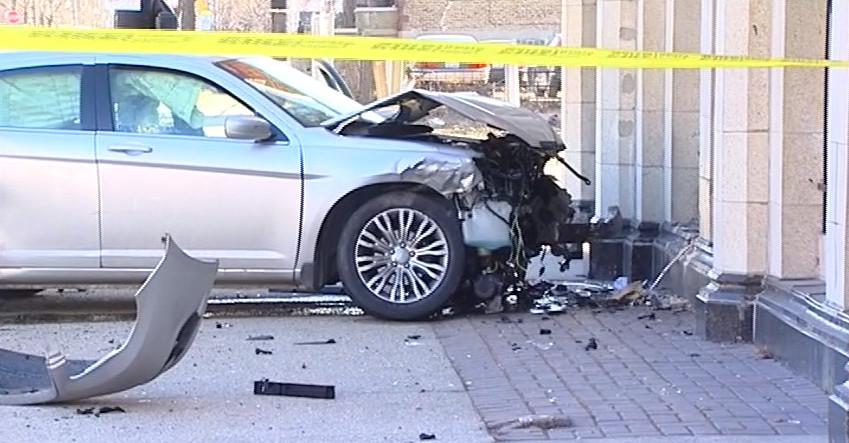 Police investigate a crash near Sacramento and Jackson. | NVP News