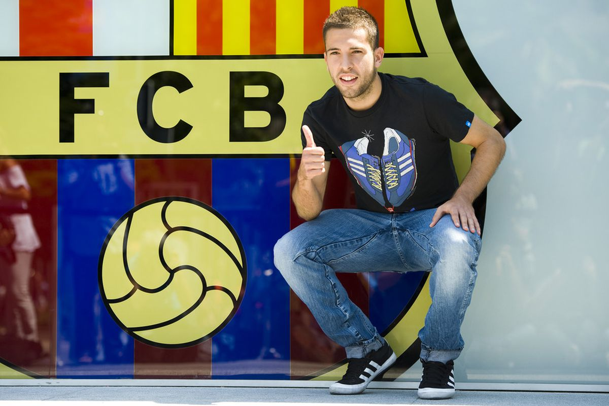 Unrelated to this really, but YAY! JORDI ALBA!