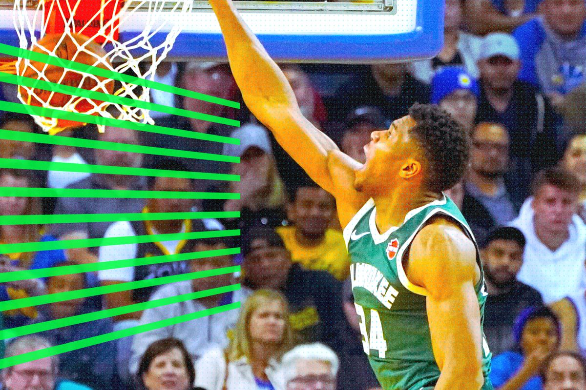 Giannis Antetokounmpo Is The Nba S Dunk Lord Sbnation Com