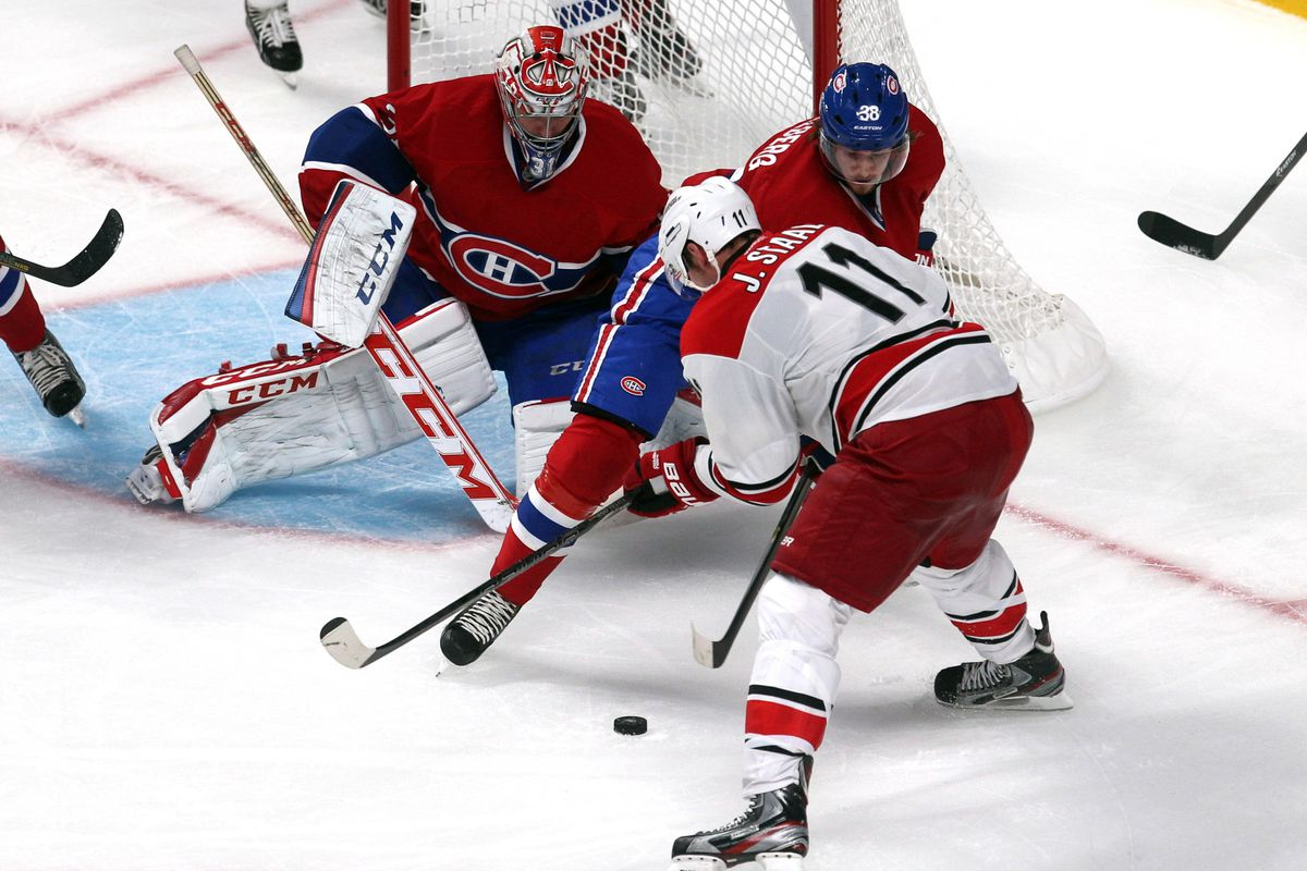 Collberg gets a taste of NHL-sized forwards in 2013 preseason action.