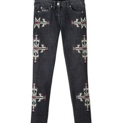 Embroidered Jeans, $49.95