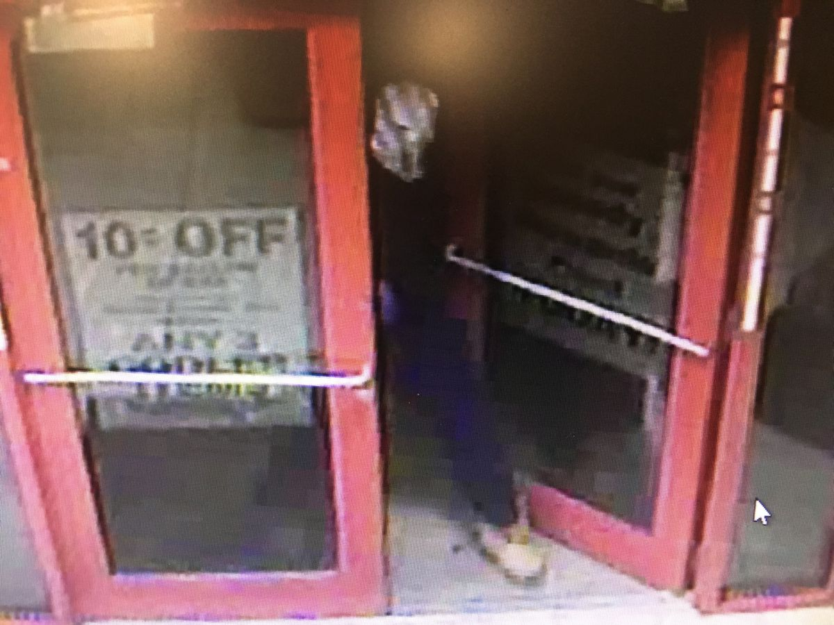 Surveillance image of the suspect in a gas station robbery March 12 in Homer Glen. | Will County Sheriff's Office