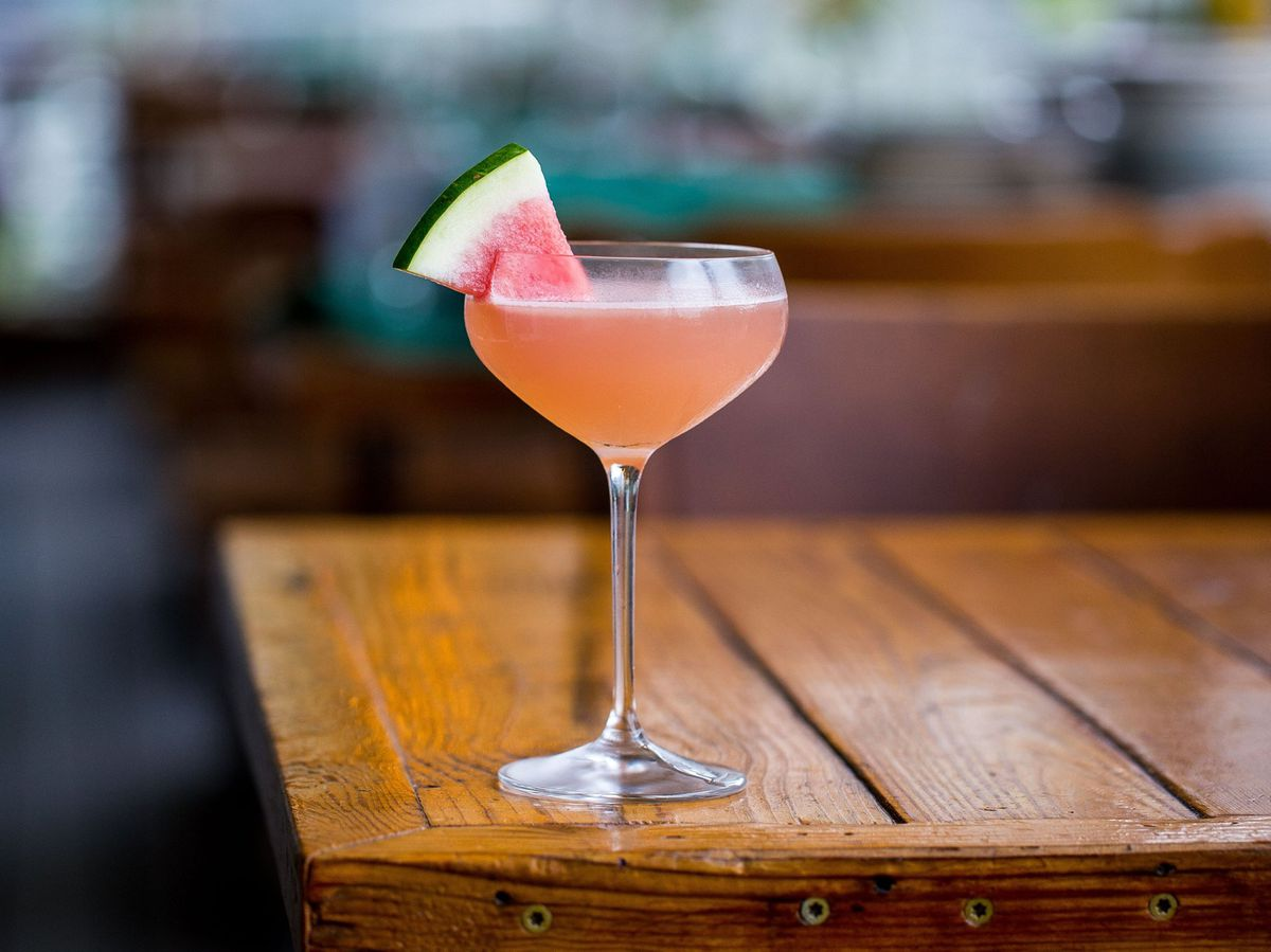 A mezcal cocktail from Odd Duck