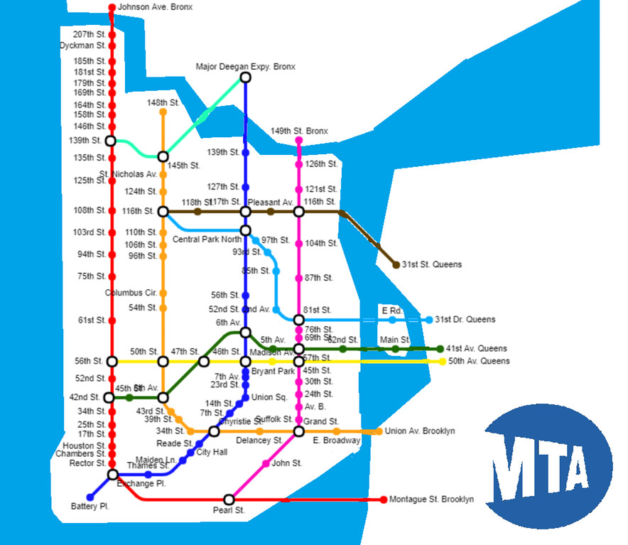 Nyc Simple Subway Map.Fantasy Mass Transit Maps By Reddit Users Link Subway Restaurant