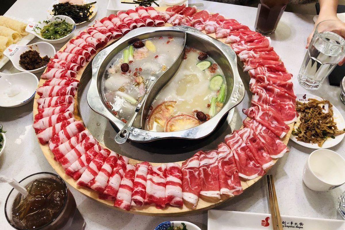 Liuyishou Hotpot meat wheel