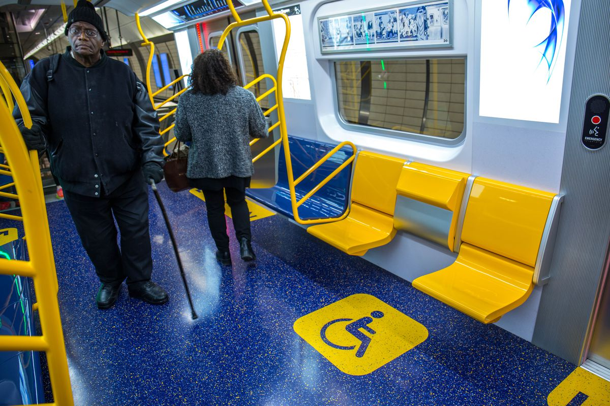 MTA unveils prototype for its new open-gangway subway cars