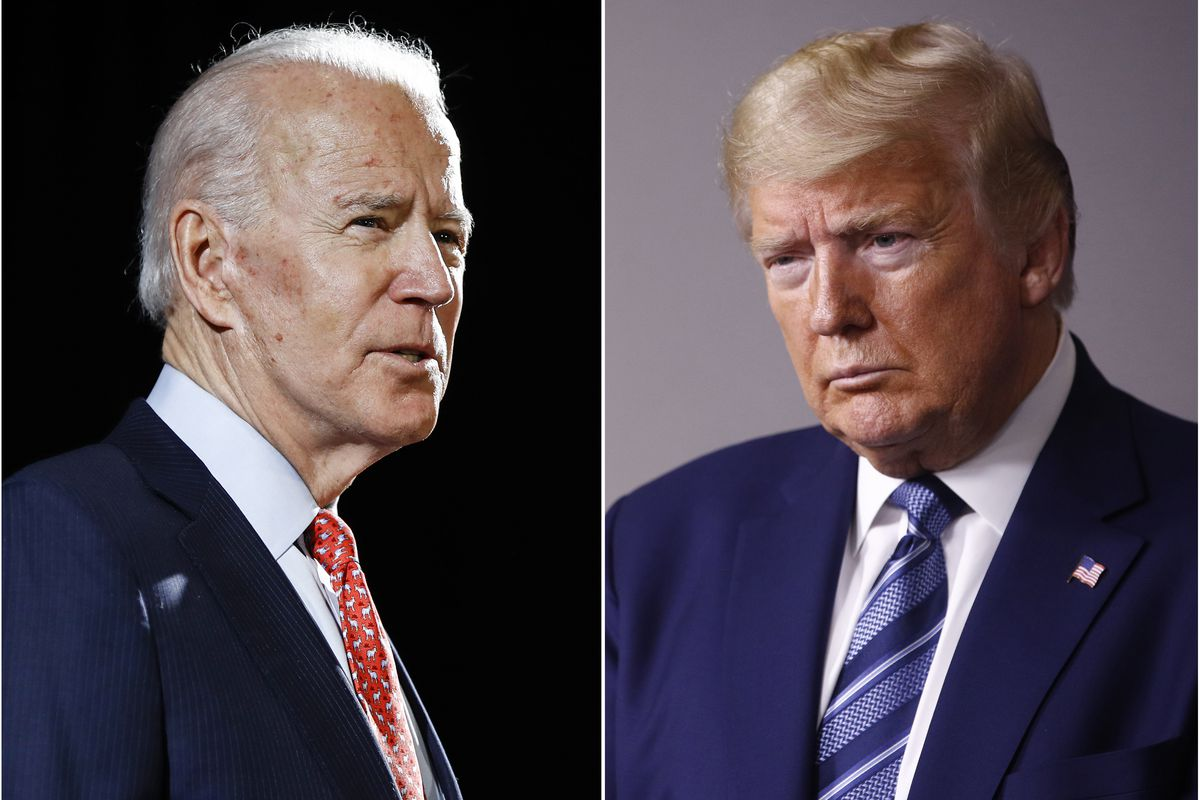 Is Joe Biden Too Old To Be President Will Playing The Age Card Work For Donald Trump Chicago Sun Times