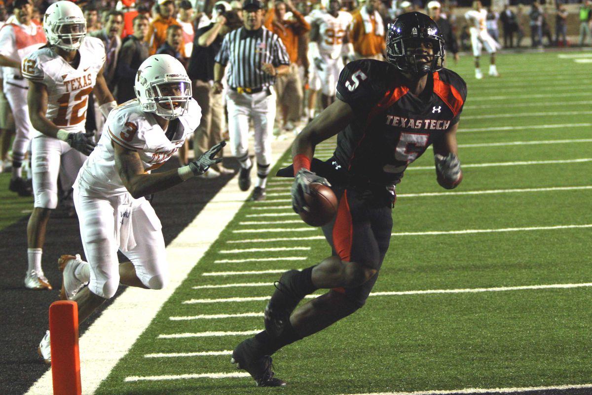 Texas Tech Red Raiders vs. University of Texas Longhorns