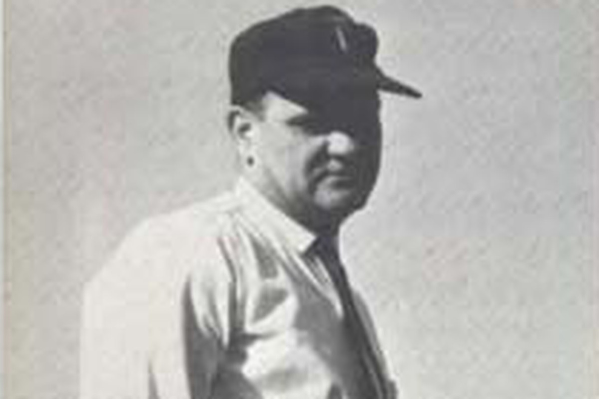 Jerry Claiborne in 1965 as coach of the Virginia Tech Hokies
