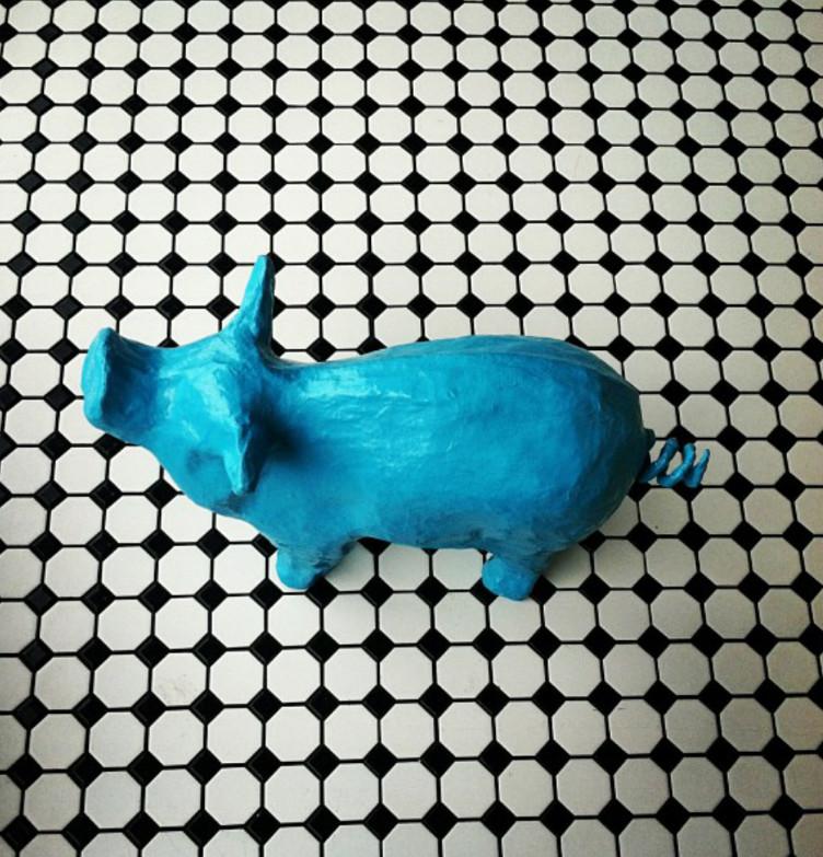 Ripple's pig.