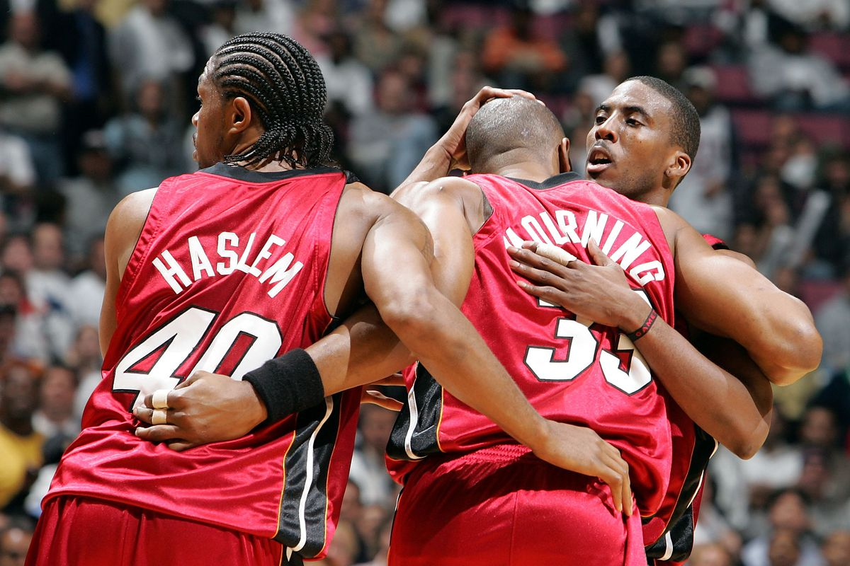 3 former Miami Heat players in a NBA