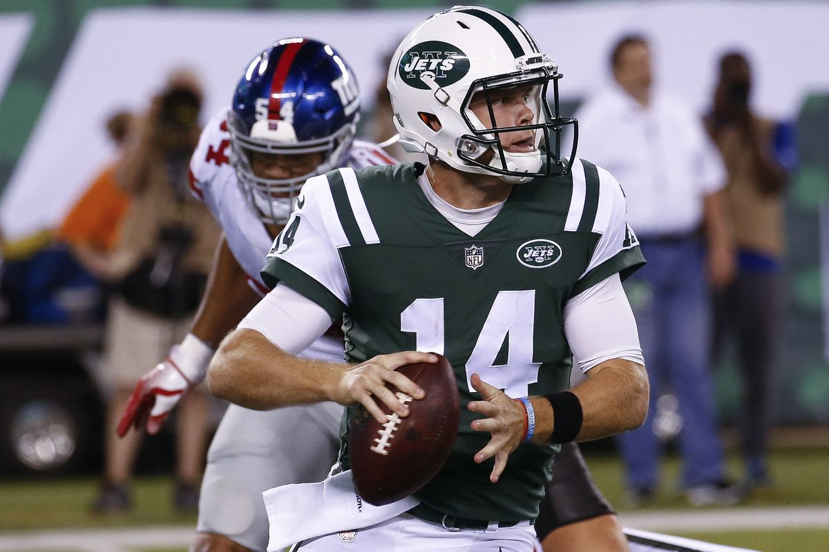 de505909491 Sam Darnold has the starting QB job, so why won't the Jets admit it ...