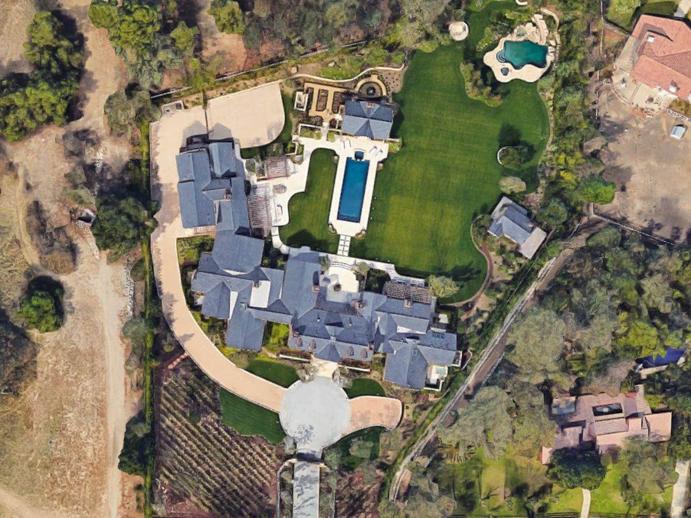 Kim Kardashian and Kanye West spent $20M renovating Hidden Hills house -  Curbed LA