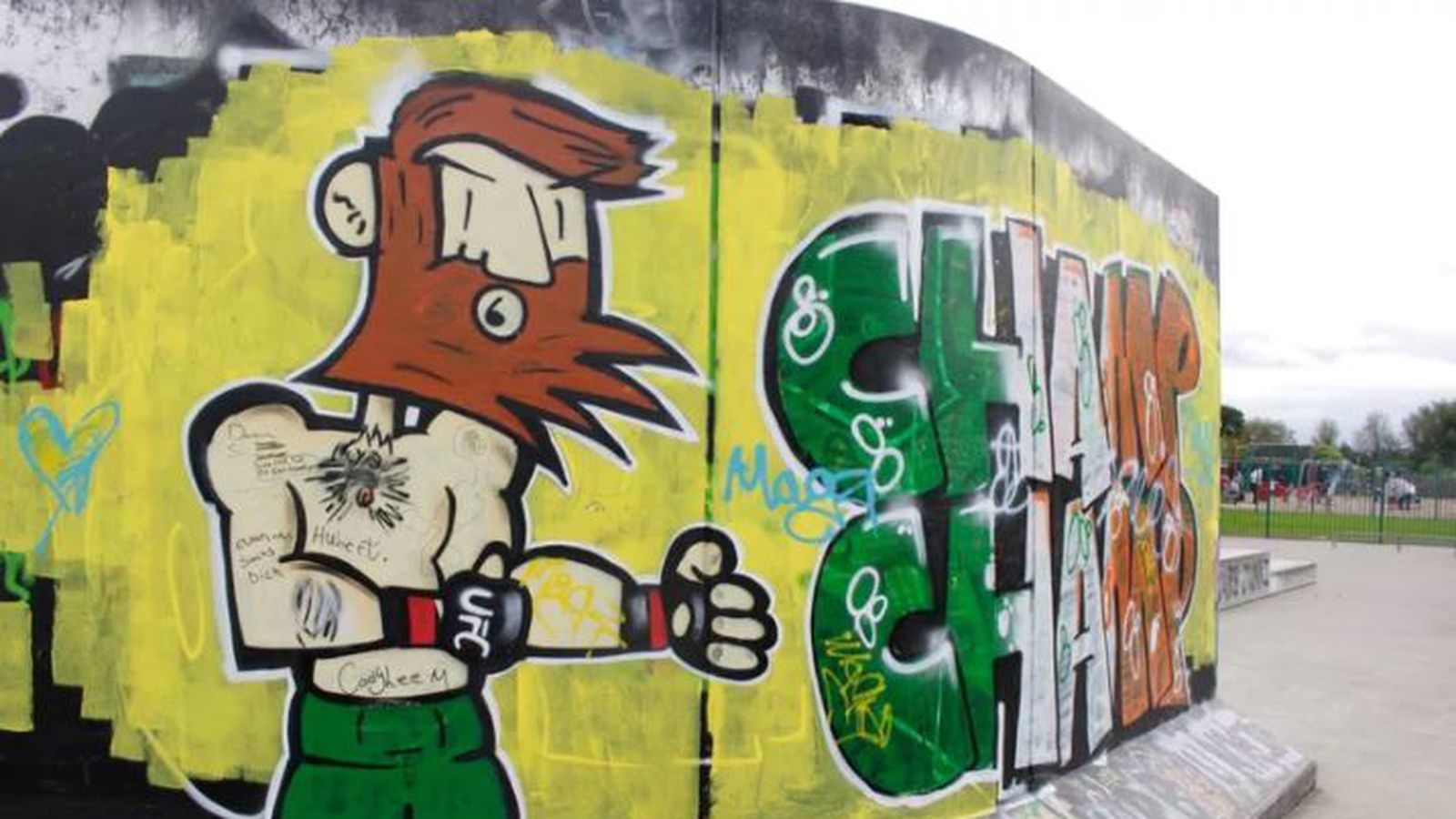 Dublin Pays Tribute To McGregor With Insane Street Art