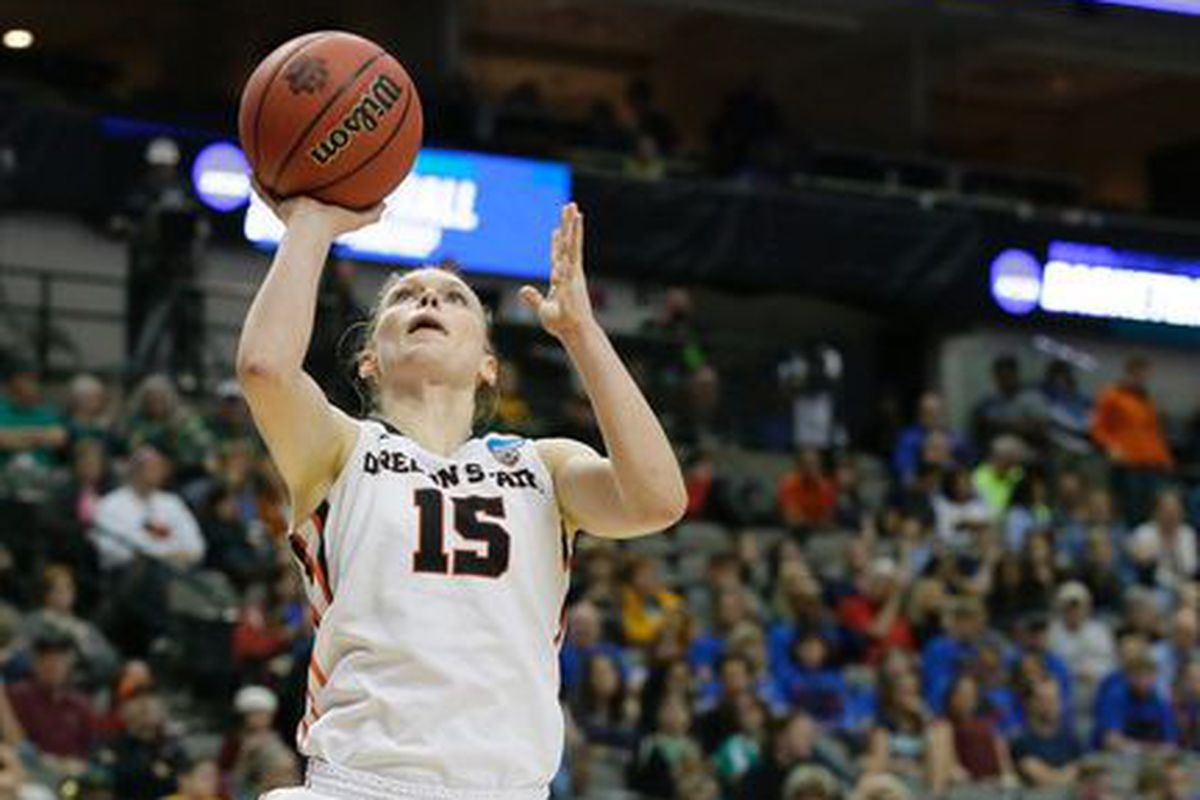 DePaul could only watch as Jamie Weisner had her best game ever.