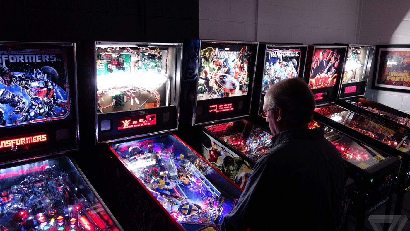 Inside one of the last pinball factories in the world - The
