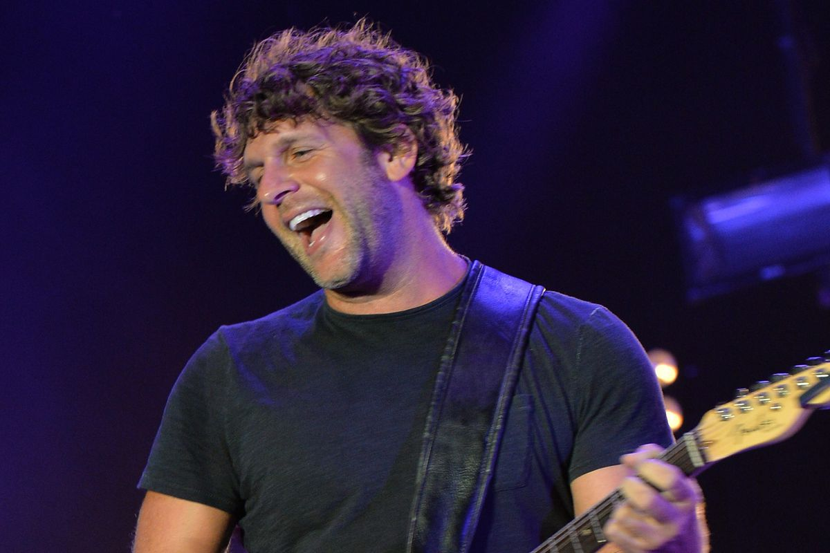 This is Billy Currington, country bad ass.