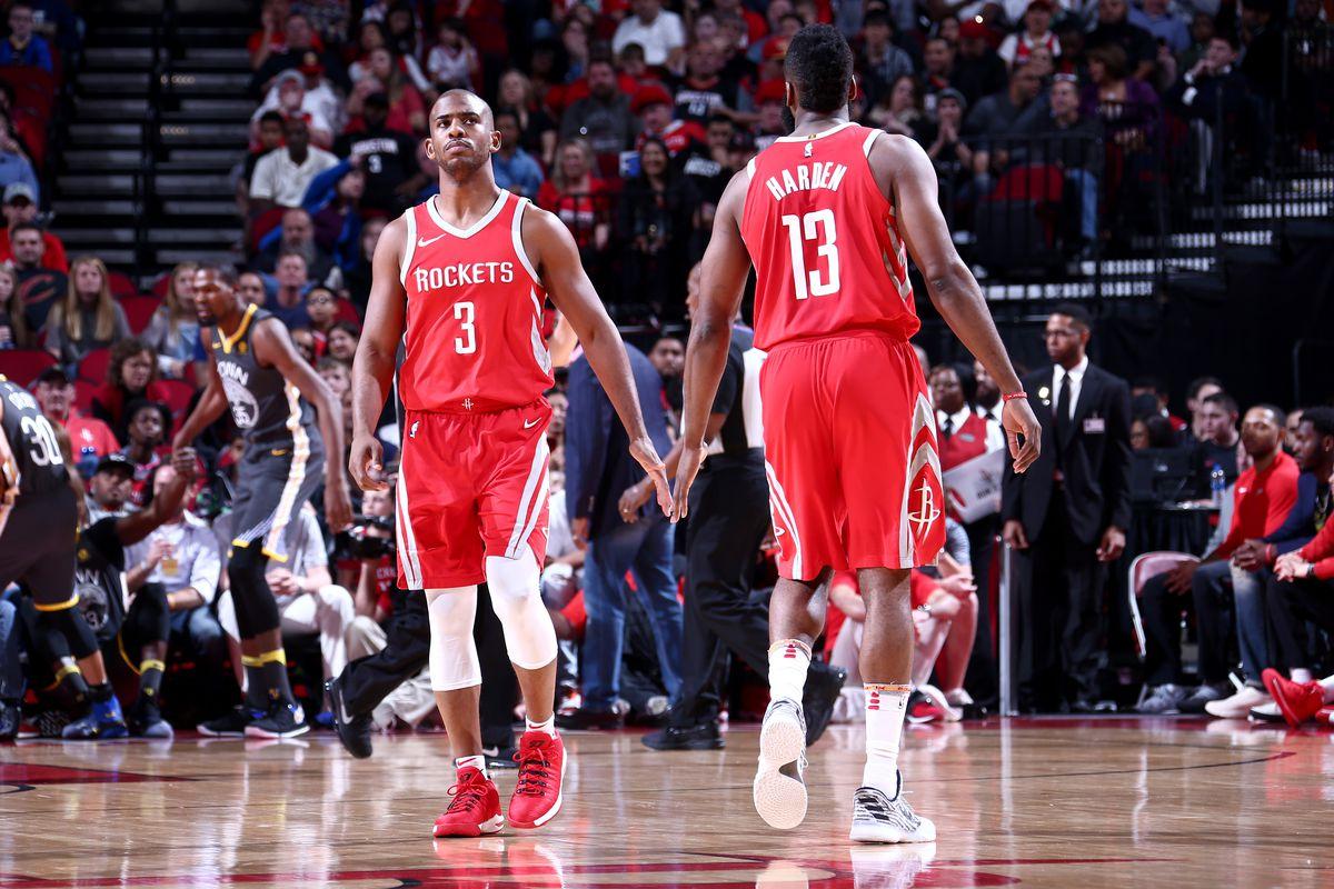 Golden State Warriors v Houston Rockets