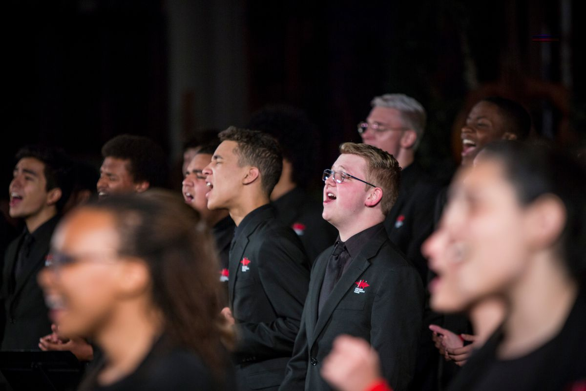 The Chicago Children's Choir performs at the Concert For Peace. | James Foster/For the Sun-Times
