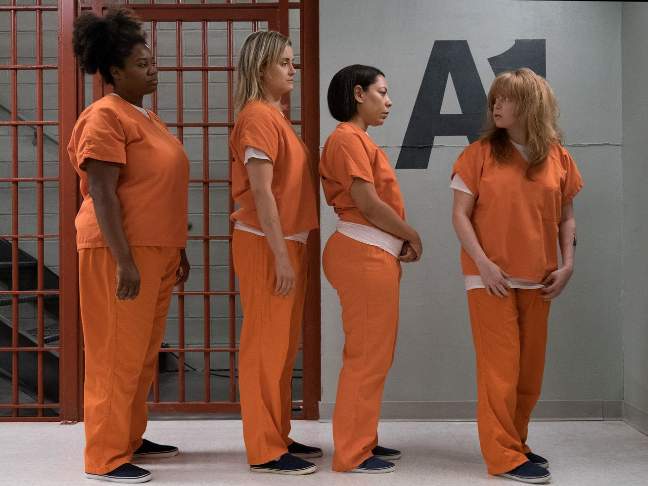 The characters of Orange Is the New Black head to maximum security prison in season six.