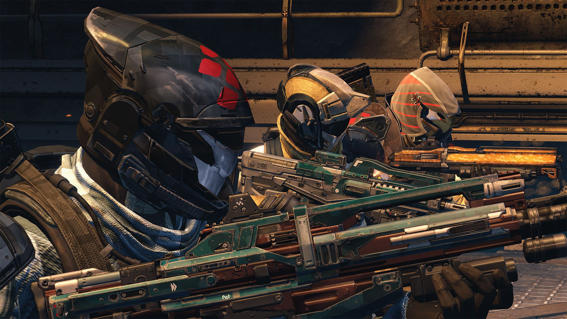 Destiny: House of Wolves - army of wolves three Guardians 1920