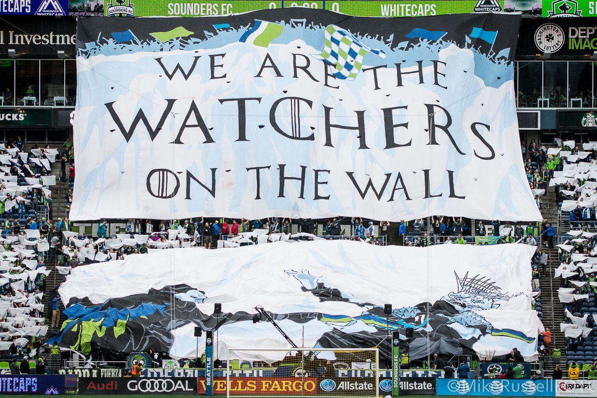 Seattle Sounders vs. Vancouver Whitecaps: Photos