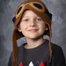 This undated photo provided by the Lincoln County School District shows 6-year-old London McCabe in kindergarten at Crestview Heights School in Waldport, Ore. His mother, Jilllian McCabe, told police she threw her son off the Yaquina Bay Bridge in Newport, Ore. She is being held on charges of aggravted murder, murder, and manslaughter in her son's death.
