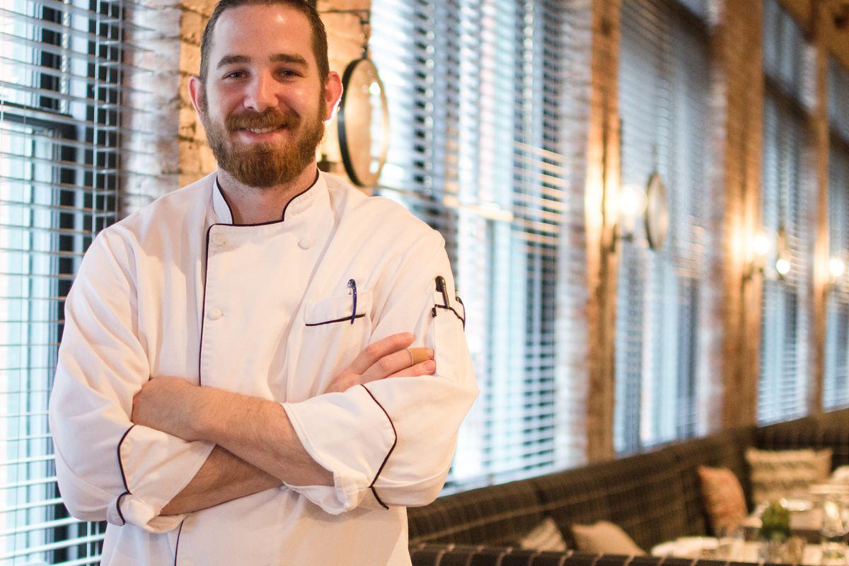 Adam Kube at Bastille Kitchen