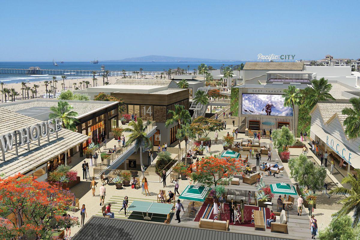 Huntington Beach Pacific City Mall