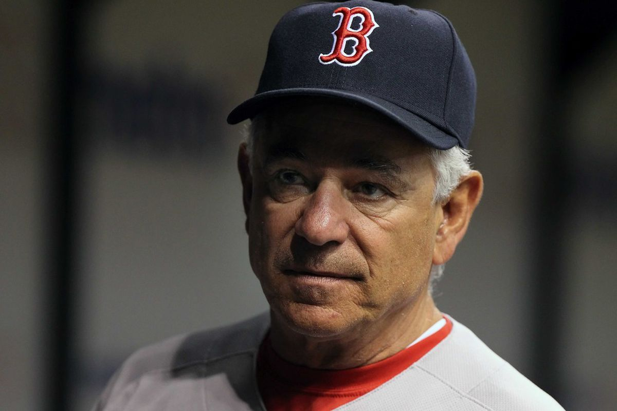 Manager Bobby Valentine and the Boston Red Sox have had a rough season thus far. Kim Klement-US PRESSWIRE