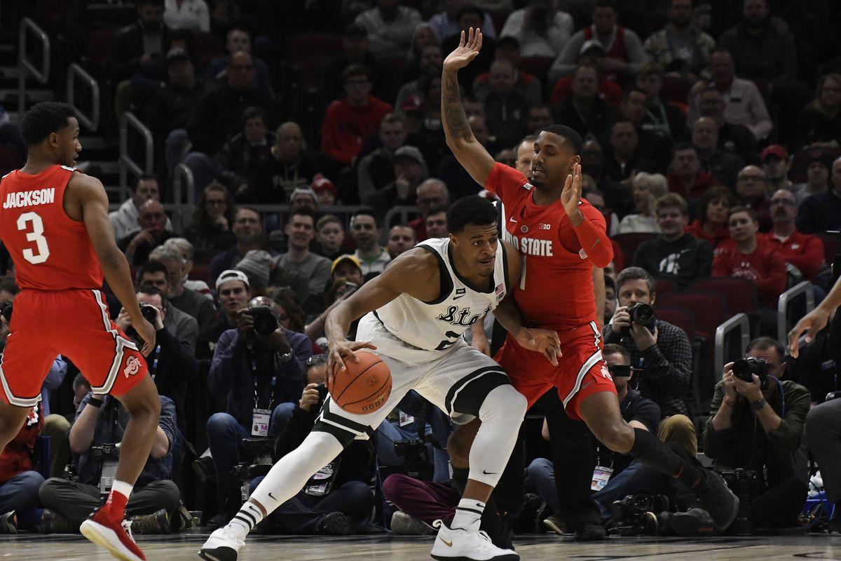 NCAA Basketball: Big Ten Conference Tournament-Michigan State vs Ohio State