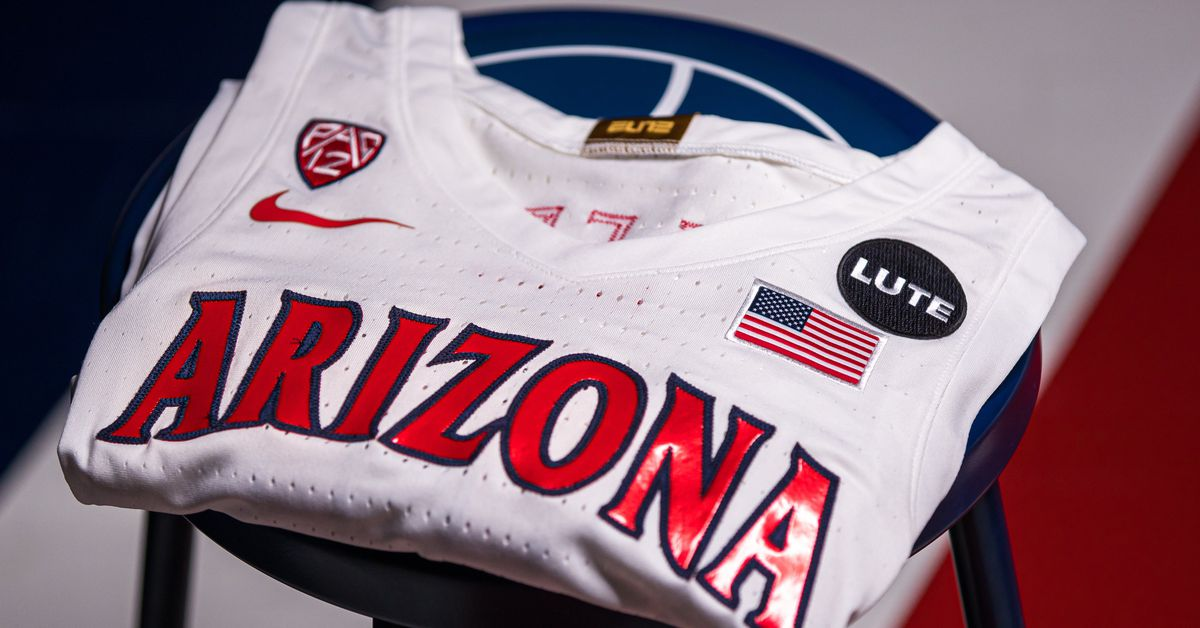 Arizona unveils Lute Olson jersey patch for 2020-21 season