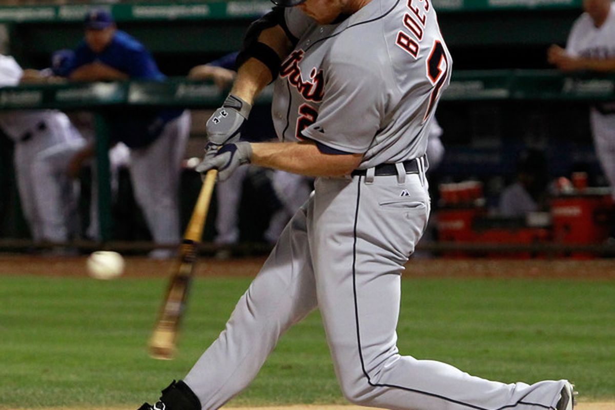 Brennan Boesch's spot should be safe, but who might end up with the short stick with Magglio Ordonez returns Thursday?