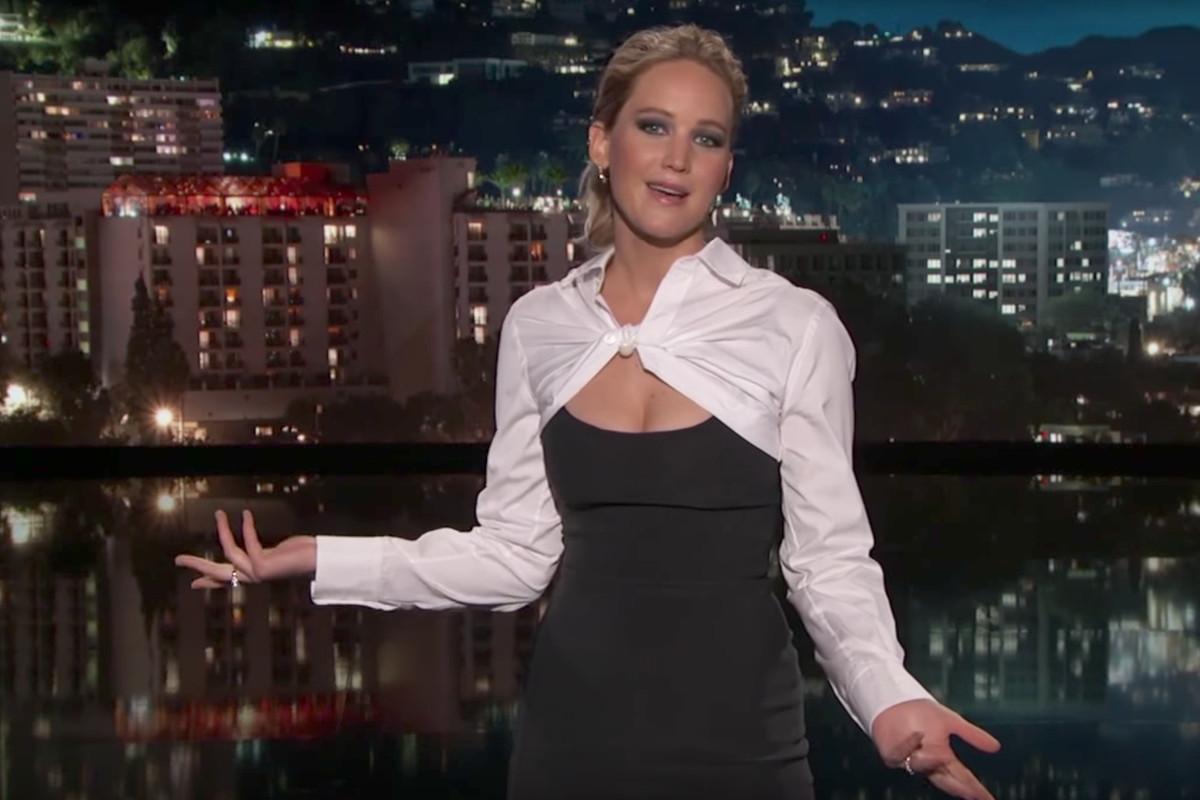 Jennifer Lawrence guest-hosting 'Jimmy Kimmel Live!'