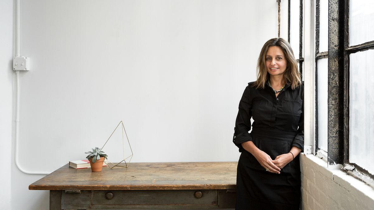 Nadine Maleh in her office space.