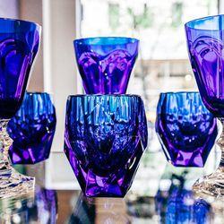 "Mario Luca Giusti Acrylic Blue Milly Tumbler, <a href=""http://jungleeny.com/dining/glassware/blue-milly-tumbler.html"">$25</a>"