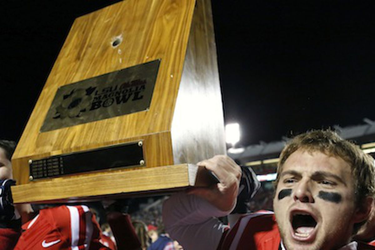 Not even mad they broke the stupid trophy