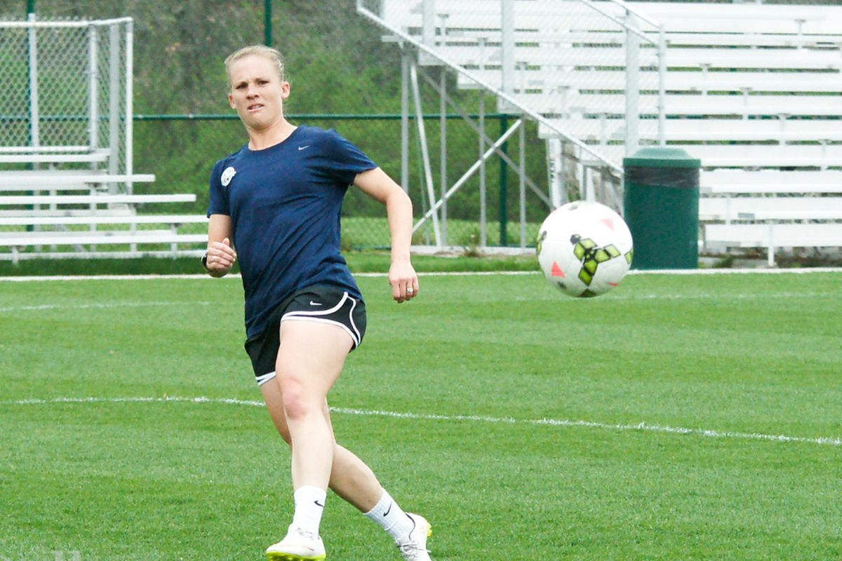 Amy Rodriguez led FCKC in scoring last season and has looked dangerous with the US this year