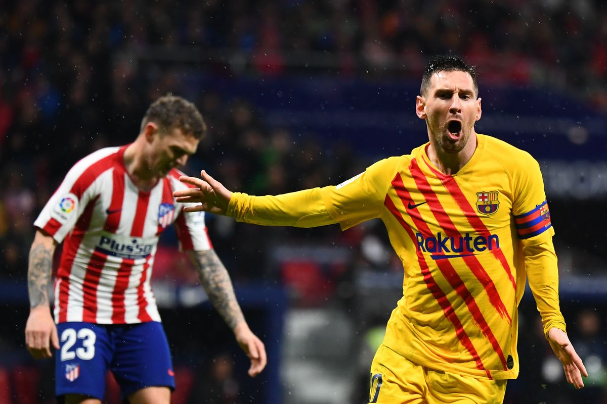 Atletico Madrid Vs Barcelona La Liga Final Score 0 1 Lionel Messi Breaks Atleti S Hearts Again With Late Winner Barca Blaugranes