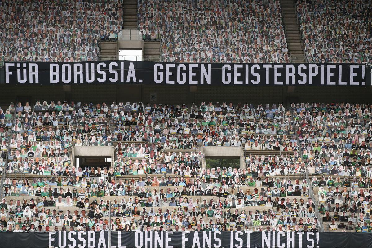Borussia Mönchengladbach gegen VfL Wolfsburg - Bundesliga