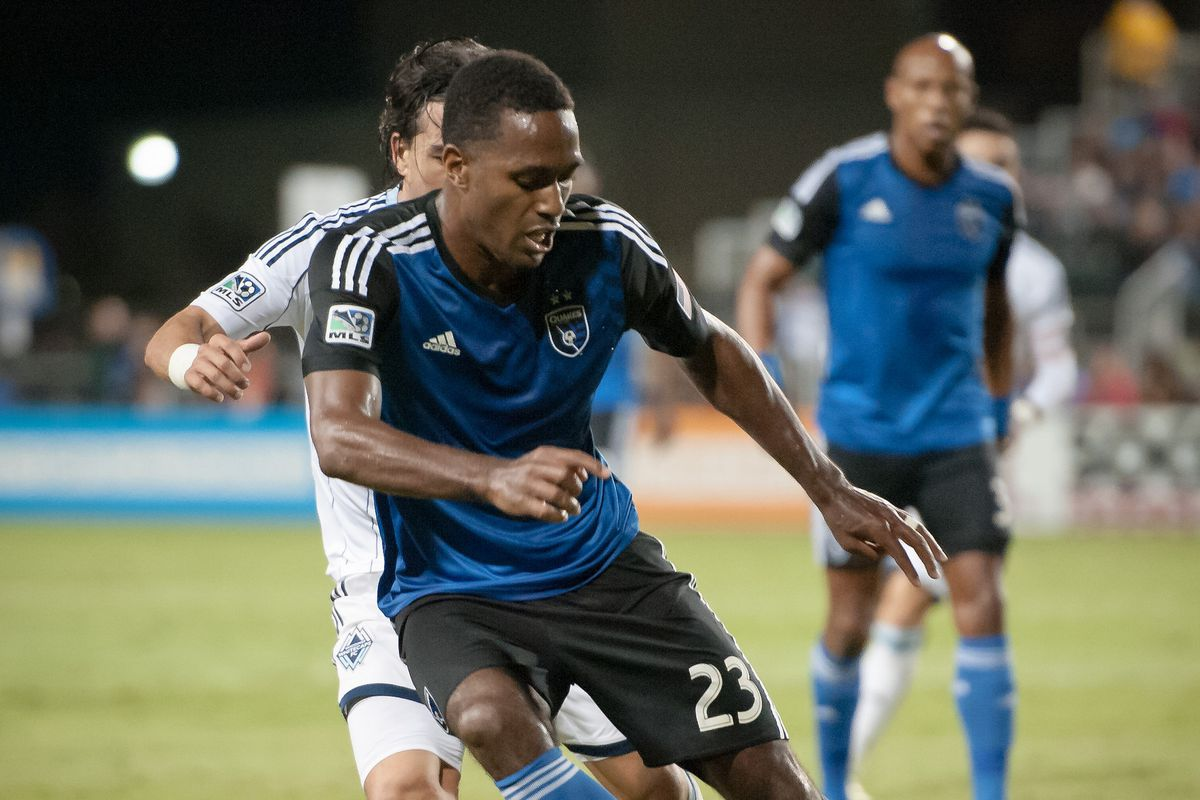 Atiba Harris is one of two Earthquakes players available in the MLS Re-Entry Draft