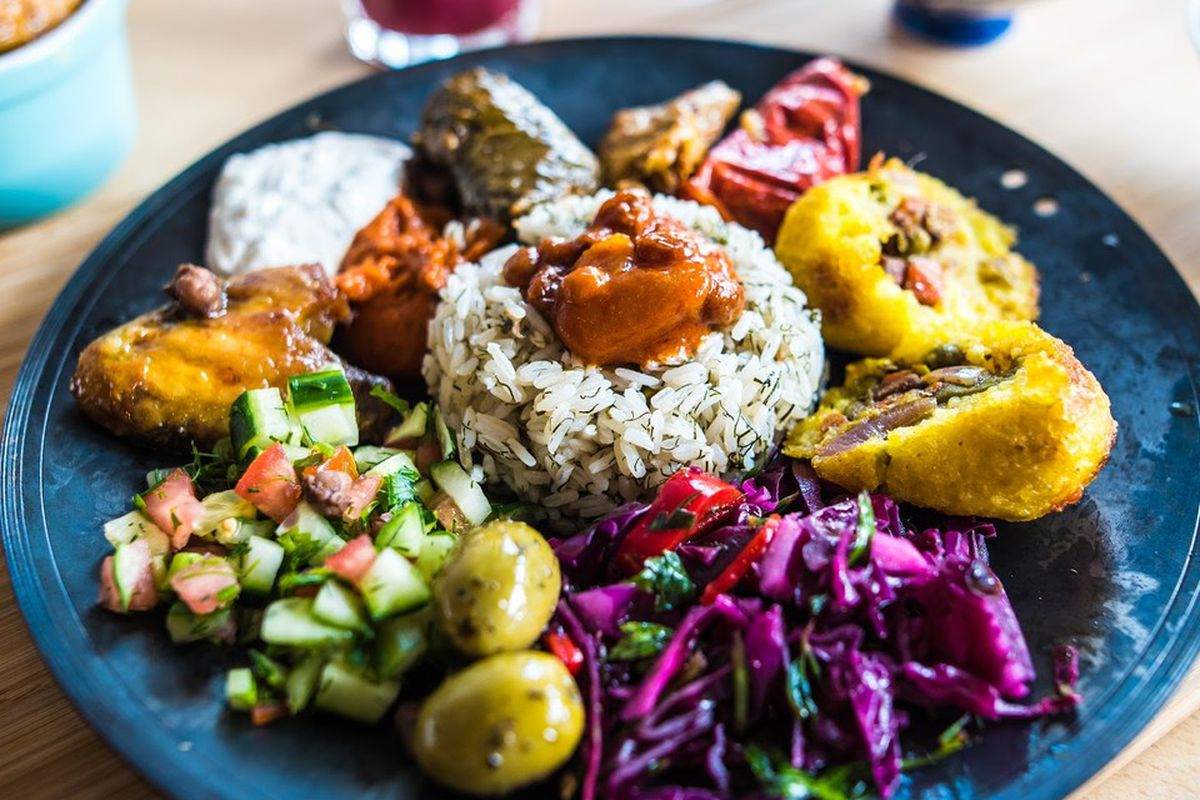 Mezze at Nandine, the Kurdish cafe in Camberwell that Observer critic Jay Rayner loved
