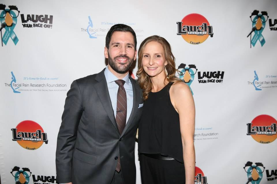 Pat and Amy Tomasulo attend their annual Laugh Your Face Off! fundraiser. | Provided Photo
