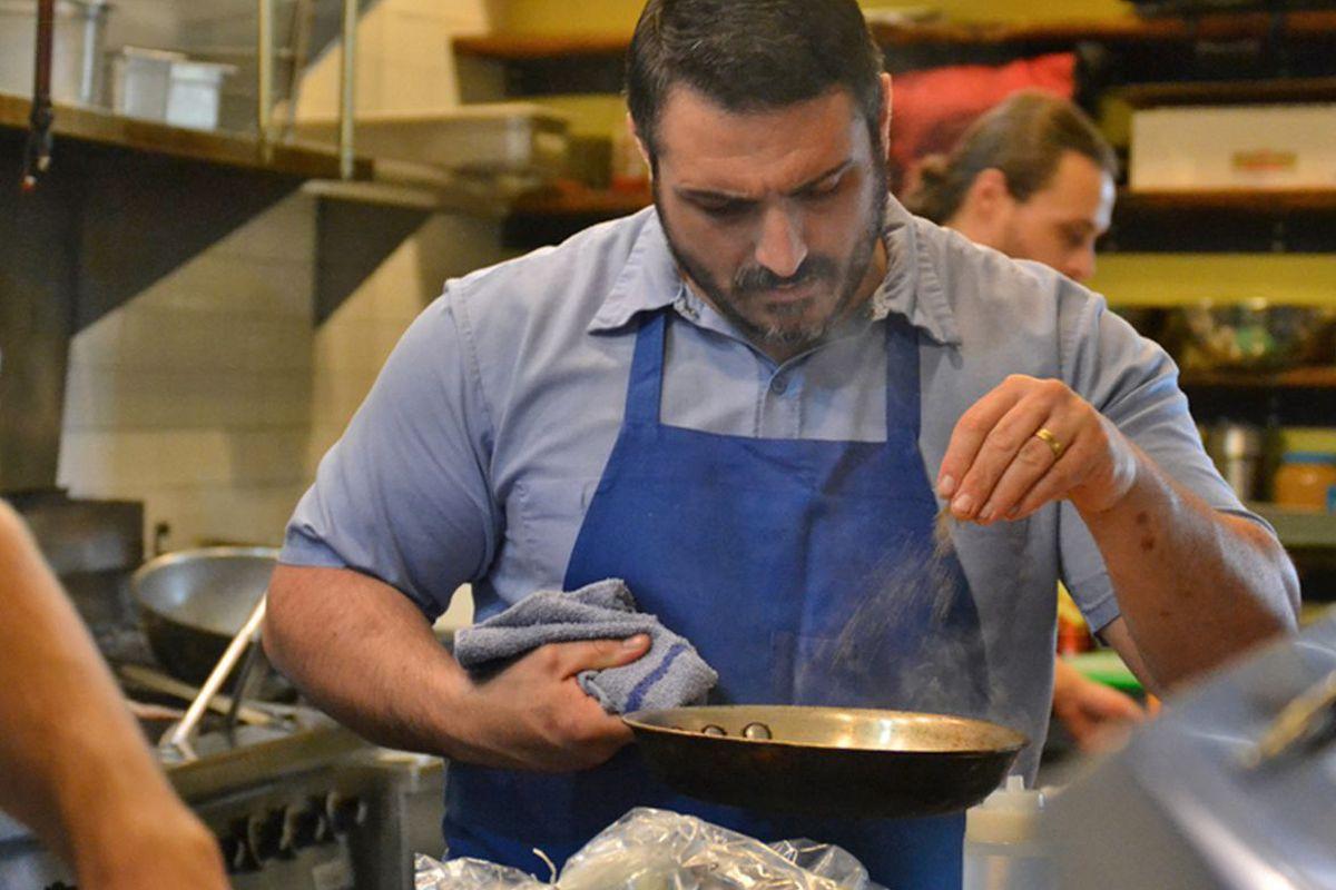 Chef Nick Novello.