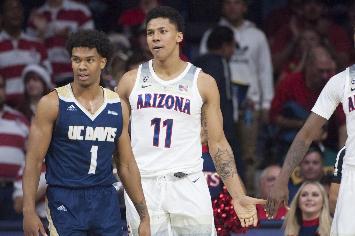 NCAA Basketball: UC Davis at Arizona