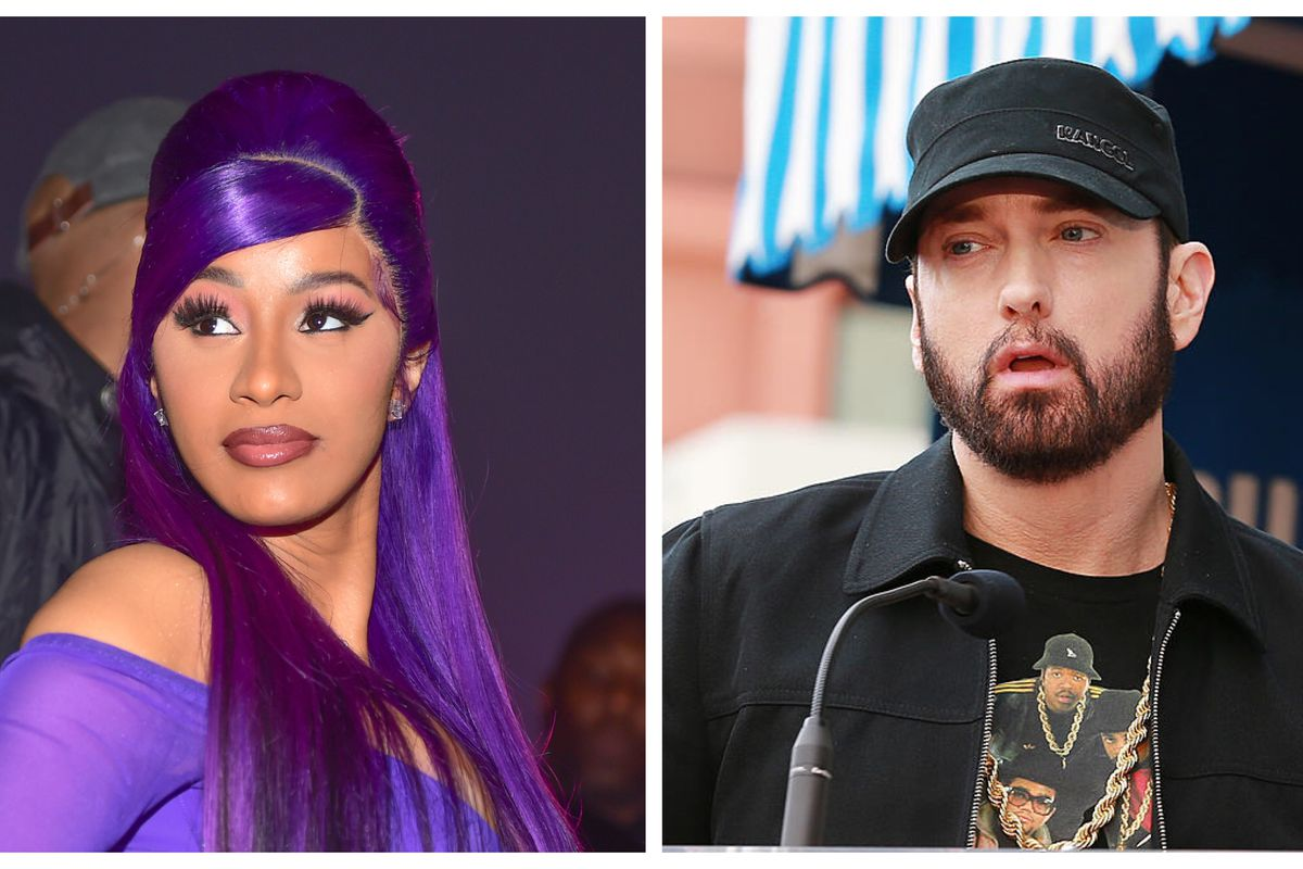 Cardi B refutes reports that Eminem declined a feature on her next album -  REVOLT