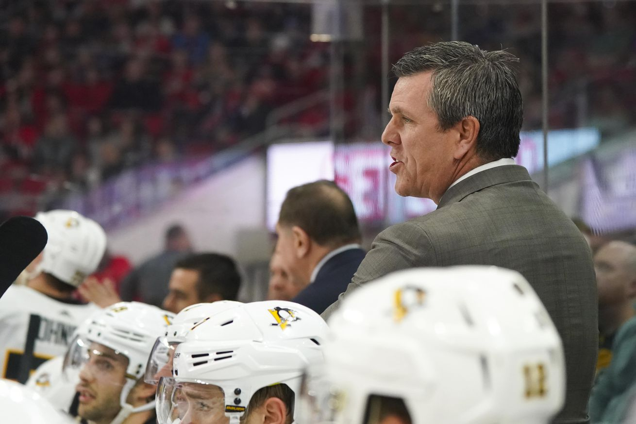 Penguins sign head coach Mike Sullivan to four-year contract extension