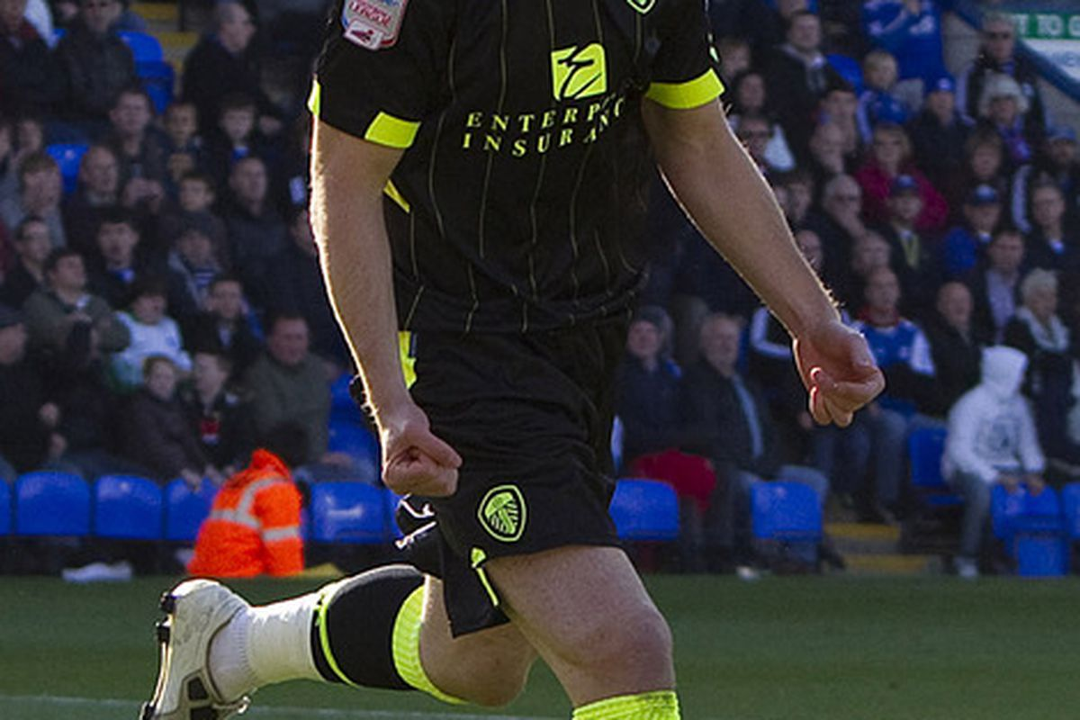 Luciano Becchio grabbed the winning goal today but was he your man of the match?  (Photo by Ben Hoskins/Getty Images)